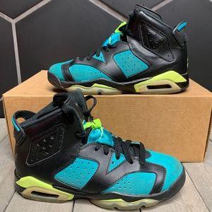 Air Jordan 6 Retro GG Turbo Green Shoe Size 5Y